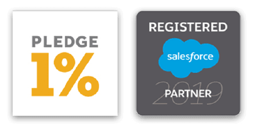 Registered Salesforce Partner - Social Pledge